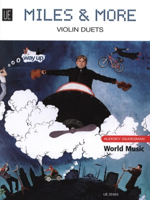 Aleksey Igudesman - Miles and More - 10 Violin Duets - Partition - di-arezzo.co.uk