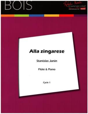 Alla Zingarese Stanislas Janin Partition laflutedepan