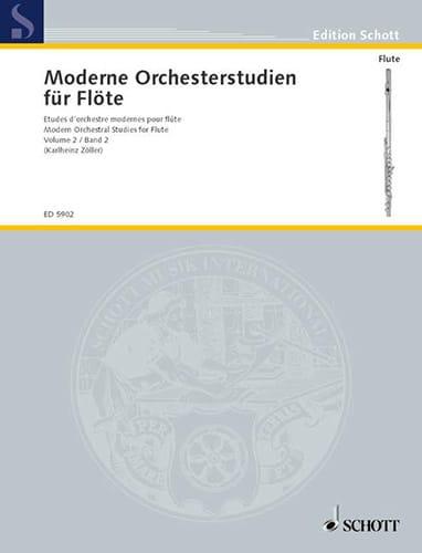 Moderne Orchesterstudien, Bd. 2 - Flöte - laflutedepan.com