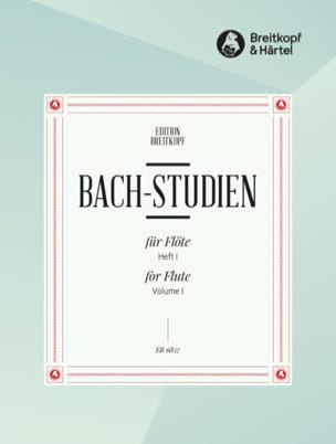 Bach-Studien für Flöte - Heft 1 BACH Partition laflutedepan