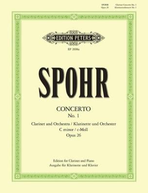 Concerto pour Clarinette n° 1 ut mineur op. 26 SPOHR laflutedepan