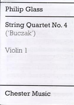 String Quartet N° 4 - Parties GLASS Partition Quatuors - laflutedepan