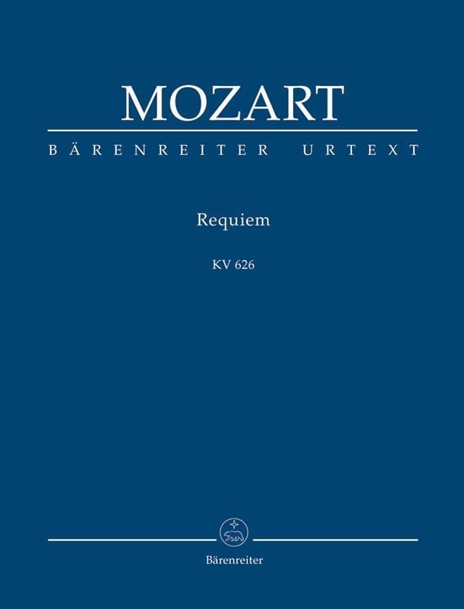 Requiem KV 626 - conducteur - MOZART - Partition - laflutedepan.com