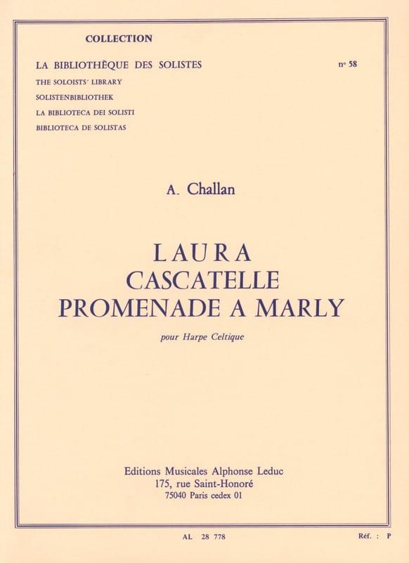 Laura / Cascatelle / Promenade A Marly - Harpe - laflutedepan.com