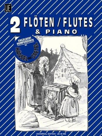 Hänsel und Gretel - 2 Flöten Klavier - laflutedepan.com