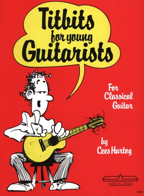 Titbits for young guitarists - Cees Hartog - laflutedepan.com