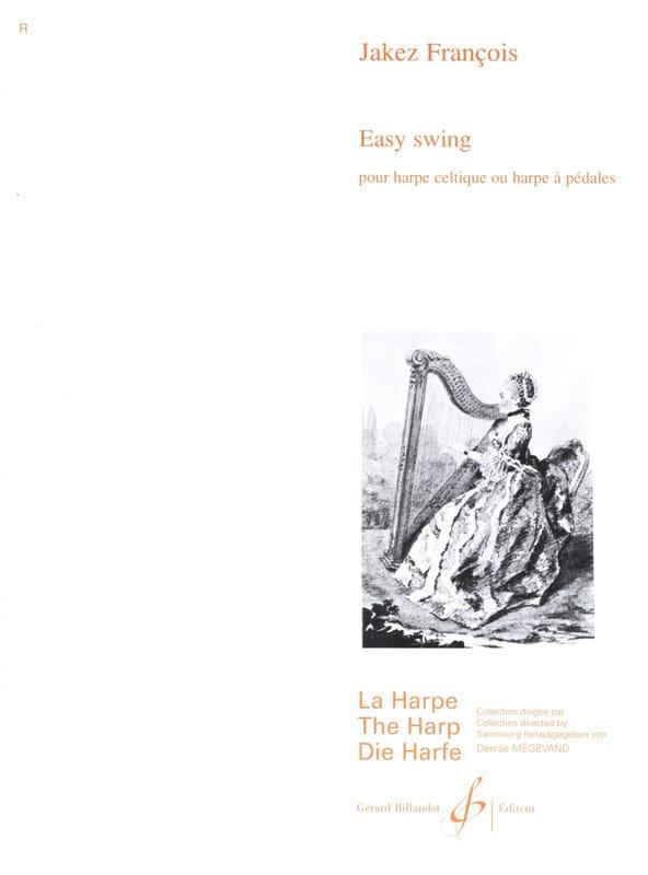 Easy Swing - Jakez François - Partition - Harpe - laflutedepan.com