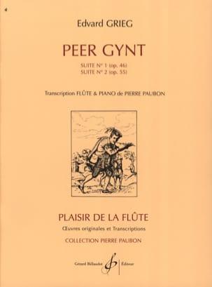 Peer Gynt - Suites n° 1 et 2 -Flûte piano GRIEG laflutedepan