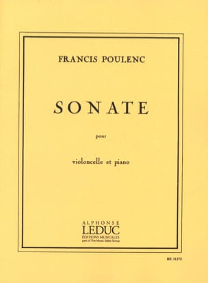 Sonate - Violoncelle POULENC Partition Violoncelle - laflutedepan