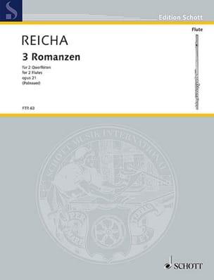 3 Romanzen op. 21 -2 Flöten REICHA Partition laflutedepan
