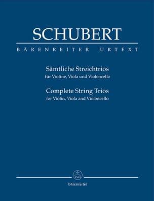 Complete String Trios - Conducteur SCHUBERT Partition laflutedepan