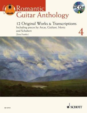 Romantic Guitar Anthology Vol.4 Partition Guitare - laflutedepan