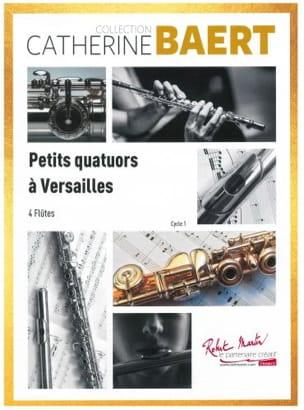 Petits Quatuors à Versailles Catherine Baert Partition laflutedepan