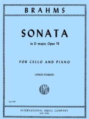 Sonate en ré majeur op. 78 - BRAHMS - Partition - laflutedepan.com