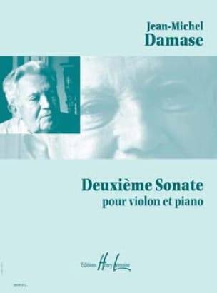 2ème Sonate - Jean-Michel Damase - Partition - laflutedepan.com