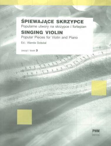 Singing Violin Vol. 3 - Partition - Violon - laflutedepan.com