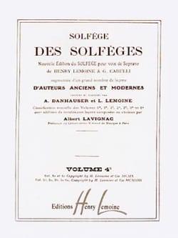 Volume 4c - S/A - Solfège des Solfèges Lavignac Partition laflutedepan