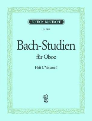 Bach-Studien für Oboe - Heft 1 BACH Partition Hautbois - laflutedepan