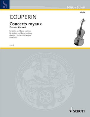 Concerts Royaux - Premier concert COUPERIN Partition laflutedepan