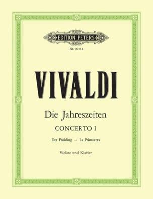 Concerto La Primavera op. 8 n° 1 VIVALDI Partition laflutedepan