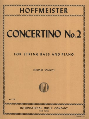 Concertino n° 2 - String bass HOFFMEISTER Partition laflutedepan