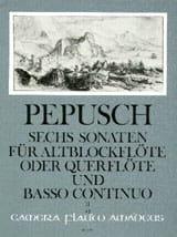 6 Sonaten - Bd. 2 - Altblockflöte Flöte Bc - laflutedepan.com