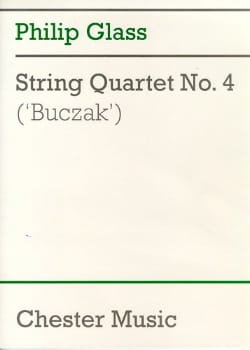 String quartett n° 4 - Score GLASS Partition laflutedepan