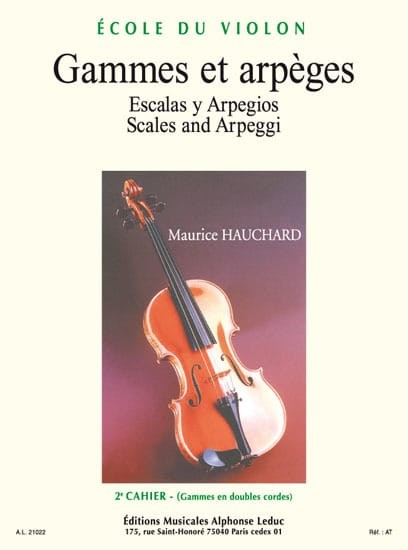Gammes et Arpèges Volume 2 - Maurice Hauchard - laflutedepan.com