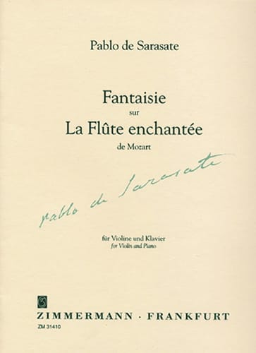 Fantaisie sur La Flûte enchantée de Mozart op. 54 - laflutedepan.com