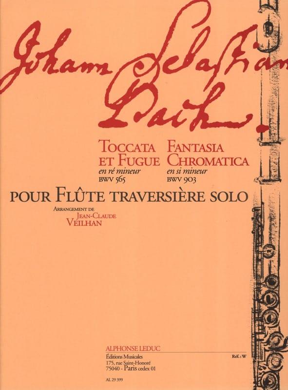 Toccata et fugue en ré min. BWV 565 / Fantasia chromatica en si min. BWV 903 - laflutedepan.com
