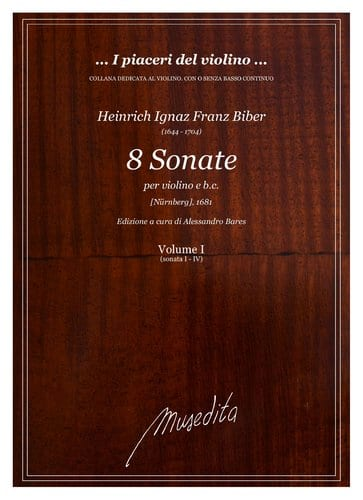 8 Sonate Nürnberger 1681 - BIBER - Partition - laflutedepan.com