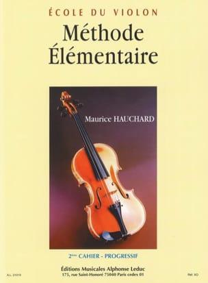 Méthode élémentaire - Cahier 2 Maurice Hauchard Partition laflutedepan