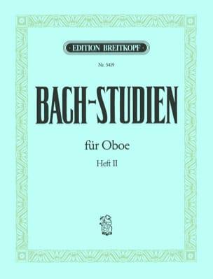 Bach-Studien für Oboe - Heft 2 BACH Partition Hautbois - laflutedepan