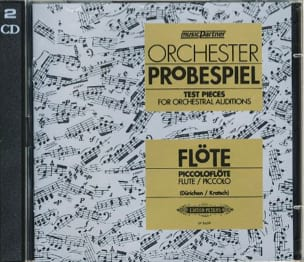 - Orchester Probespiel CD - Flute - Partition - di-arezzo.co.uk