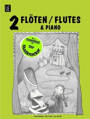Der Nussknacker -2 Flöten Klavier TCHAIKOVSKY Partition laflutedepan