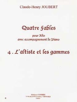Claude-Henry Joubert - Il violista e gli intervalli N ° 4 delle Quattro Favole - Partition - di-arezzo.it