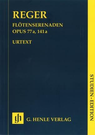 Flötenserenaden op. 77a, 141a - Partitur Max Reger laflutedepan