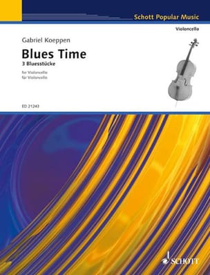 Blues Time Gabriel Koeppen Partition Violoncelle - laflutedepan