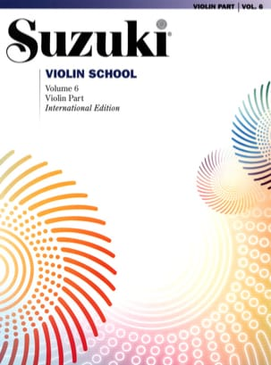 Suzuki - Violin School Vol.6 - Violin Part - Partition - di-arezzo.fr