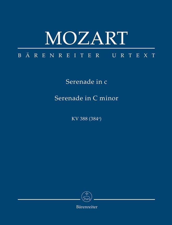 Serenade Nacht Musique für Bläser c-moll - MOZART - laflutedepan.com