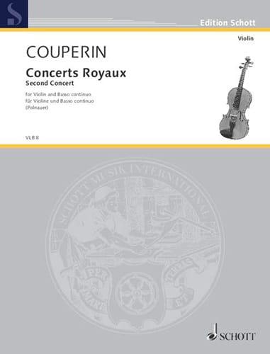 Concerts Royaux - Second concert - COUPERIN - laflutedepan.com