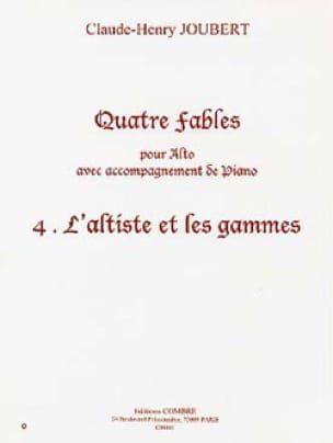 L'altiste et les Gammes N° 4 des Quatre Fables - laflutedepan.com