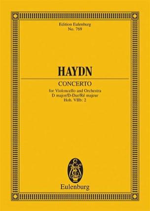 Violoncello-Konzert D-Dur, Op. 101 Hob. Viib:2 - Conducteur laflutedepan