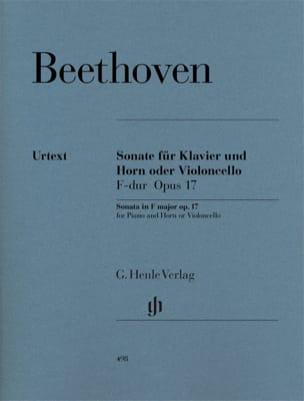 Sonate pour cor ou violoncelle en Fa majeur op. 17 laflutedepan