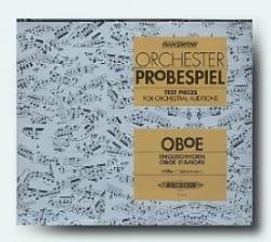 Orchester - Probespiel CD - Hautbois Partition laflutedepan