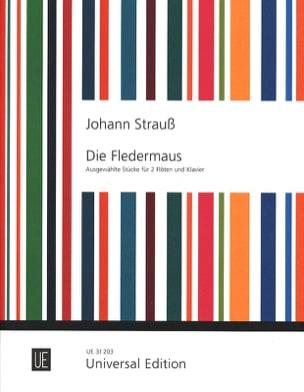 Die Fledermaus -2 Flöten Klavier - laflutedepan.com