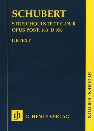 Streichquintett C-Dur D. 956 op. post. 163 - Partitur laflutedepan