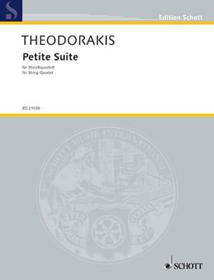 Petite Suite For String Quartet 1952-53 THEODORAKIS laflutedepan