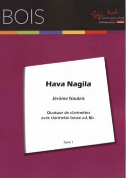 Hava Nagila - 4 Clarinettes Traditionnel Partition laflutedepan