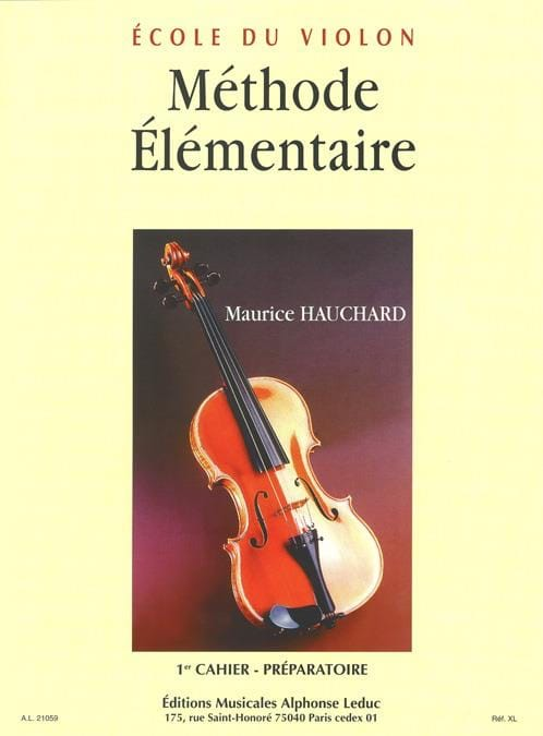 Méthode élémentaire - Cahier 1 - Maurice Hauchard - laflutedepan.com